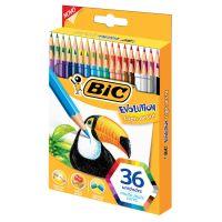 Lápis de Cor BIC Evolution 36 cores (x3 embalagens) - Cod. 70330433632