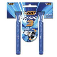 Aparelho de barbear BIC3 Acqua c/ 2 unidades (x12 embalagens) - Cod. 70330729889