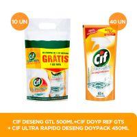 Desengordurante CIF  500mL + Desengordurante Cif  450mL - Cod. C32683