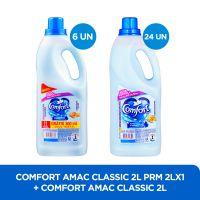 Amaciante Comfort Classico 2L + Amaciante Comfort 2L - Cod. C32684