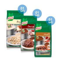 Combo - 1 Molho Branco Bechamel Knorr 1,1 kg + 1 Molho Escuro Demi Glace Knorr 1,1 kg + 1 Molho Madeira Knorr 1,1kg e Ganhe 25% de desconto - Cod. C32694