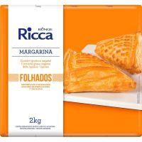 Margarina Folhados Ricca Placa 2kg - Cod. 7891080404337