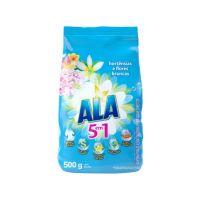 Sabão em Pó Ala 5 em 1 Rosas e Flor-de-Lis 500g | 9 unidades - Cod. C32751