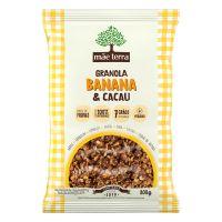 Granola Mãe Terra Banana & Cacau 800g | 6 unidades - Cod. C32824