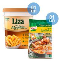 Combo - Compre 1 Óleo de Algodão Liza 14,5kg e Ganhe 1 Caldo de Galinha Knorr 1,01kg - Cod. C34043