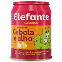 Extrato de Tomate Elefante Cebola & Alho 340g - Cod. 7896036097328