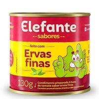 Extrato de Tomate Elefante Ervas Finas 130g - Cod. 7896036097342