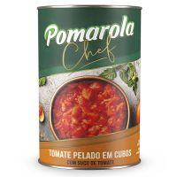 Pomarola Tomate Pelado em Cubos 400g - Cod. 7896036097267