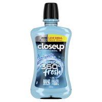Enxaguante Bucal Antisséptico Closeup Ice Proteção 360° Fresh Leve 500mL Pague 350mL - Cod. 7891150071803