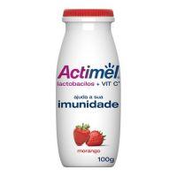 Leite Fermentado Actimel Morango 100mL - Cod. 7891025113447