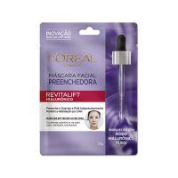 Máscara Facial Preenchedora Anti-idade L'Oréal Paris Revitalift Hialurônico, 30g, 1 UN . | Caixa com 1 - Cod. 6923700952087