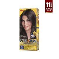 Tintura Cor&Ton Niely mini kit 4.0 Castanho Médio - Cod. 7896000705976