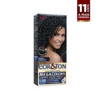 Tintura Cor&Ton Niely mini kit Mega Colors 1.110 Preto Ônix - Cod. 7896000724953