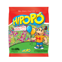 Bala Mastigável Hipopó Sortida 600g - Cod. 7896286615037