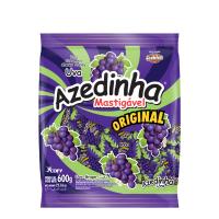 Bala Mastigável Azedinha Uva 600g - Cod. 7896286615518