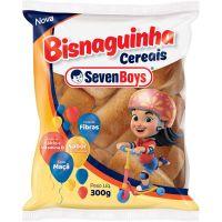 Bisnaguinha Cereais Seven Boys 300g - Cod. 7891193096696