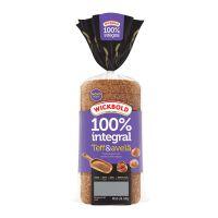 Pão 100% Integral Wickbold Teff & Avelã 400g - Cod. 7896066301228