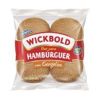 Pão Hambúrguer Wickbold com Gergelim 200g - Cod. 7896066314655