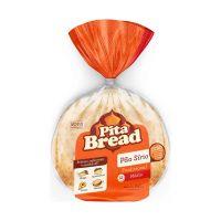 Pão Sírio Médio Pita Bread com 12 unidades 640g - Cod. 7896073900216