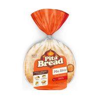Pão Sírio Tradicional Pita Bread 6 unidades 320g - Cod. 7896073901015