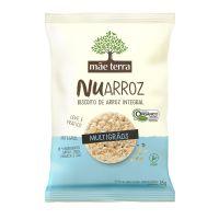 Biscoito de Arroz Mãe Terra Nuarroz Integral Orgânico Multigrãos 35g - Cod. 7896496918089