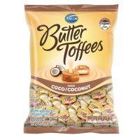 Bolsa de Bala Butter Toffes Coco 500g (83 un/cada) - Cod. 7891118025497
