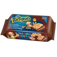 Biscoito Tortuguita Recheado Chocolate 43g (12 un/cada) - Cod. 7896058200218
