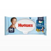 Lenços Umedecidos Huggies Tripla Proteção 96un - Cod. 7896018704299