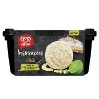 Sorvete Kibon Inspirações Torta de Limão 1,3L | Caixa com 4 - Cod. 7891150074514C4