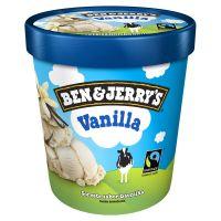 Sorvete Ben&Jerry's Vanilla 458ML | Caixa com 8 - Cod. 76840002924C8