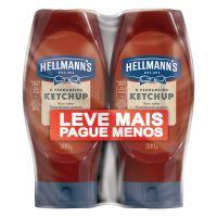 Kit Ketchup Hellmann's 380g Leve Mais Pague Menos | 3 unidades - Cod. C36299