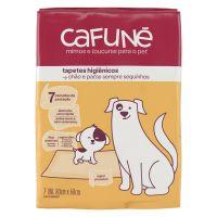 Tapete Higiênico para Cães Cafuné 7 Unidades | 4 unidades - Cod. 7891150078703E