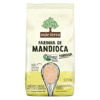 Farinha Orgânica de Mandioca Tostada Mãe Terra 500g - Cod. 7896496921157C3