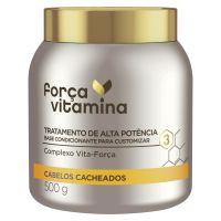 Mascara de Tratamento Forca Vitamina Cacheado 500mL - Cod. 7891150074286