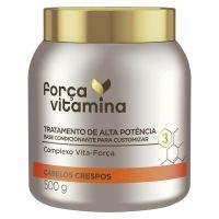 Mascara de Tratamento Forca Vitamina Crespo 500mL - Cod. 7891150074293