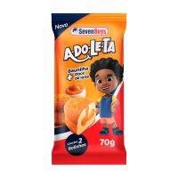 Bolinho Adole Seven Boys  Baunilha + Doce De Leite 70g - Cod. 7891193006817