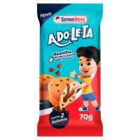 Bolinho Adole Seven Boys  Baunilha + Gotas Chocolate 70g - Cod. 7891193006848