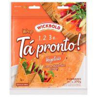 Pão Tortilha Tá Pronto Wickbold Vegetais 270g - Cod. 7896066303109