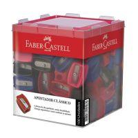 Apontador Clássico Faber-Castell Mix 1 Di C/ 100 Un - Cod. 7891360605911