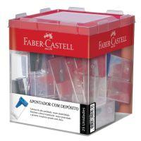Apontador com Depósito Faber-Castell Mix 1 Di C/ 25 Un - Cod. 7891360542322