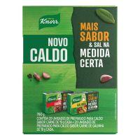 Kit 20 Caldos em Tablete Carne + 20 Galinha Knorr Mais Sabor 760g | Caixa com 1 - Cod. 7891150074781