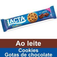 Lacta Cookies Ao Leite 80g - Cod. 7622210754813
