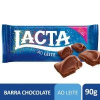 Chocolate Lacta Ao Leite 90g - Cod. 7622300991456C17