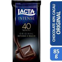 Lacta 40 Cacau Original 85g | Caixa com 17 - Cod. 7622210699992C17
