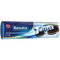 Biscoito Recheado Renata Twitter Chocolate com Recheio de Baunilha 112g - Cod. 7896022207076C36