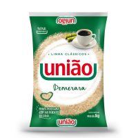 Açúcar Demerara União 1kg | Caixa com 10 - Cod. 7891910030101C10