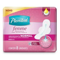 Absorvente Plenitud Femme Normal 8un - Cod. 7896007550999