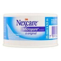 Fita Micropore Branca Nexcare 25 mm x 4,5 m - Cod. 7891040005826