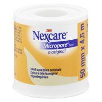 Fita Micropore Bege Nexcare 50 mm x 4,5 m - Cod. 7891040124671