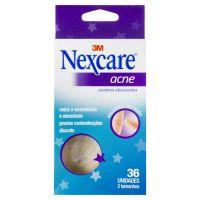 Curativo Absorvente para Acne Nexcare com 36 unidades - Cod. 7891040126125